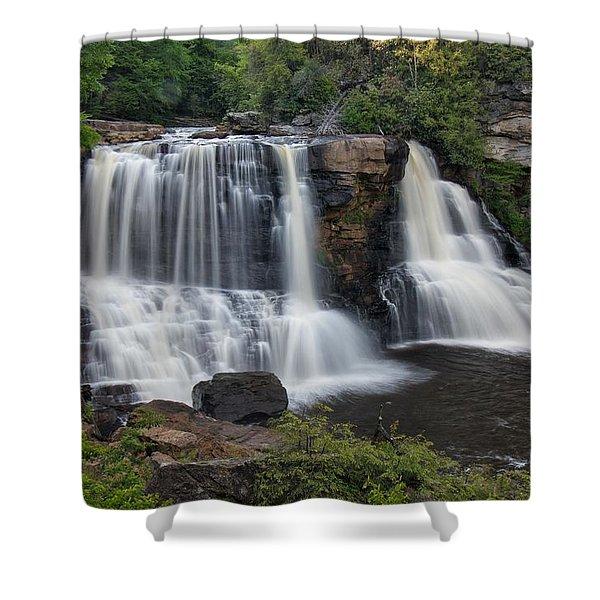 Blackwater Falls Shower Curtain