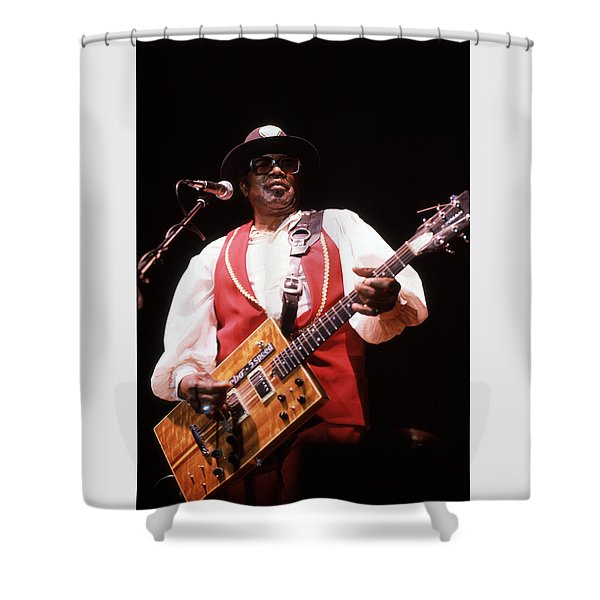 Bo Diddley Shower Curtain