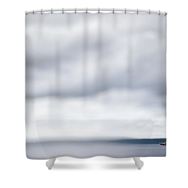 Boat #9224 Shower Curtain
