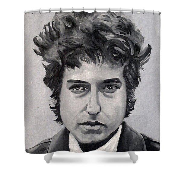 Bob Dylan Shower Curtain