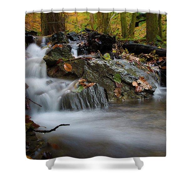 Bodetal, Harz Shower Curtain