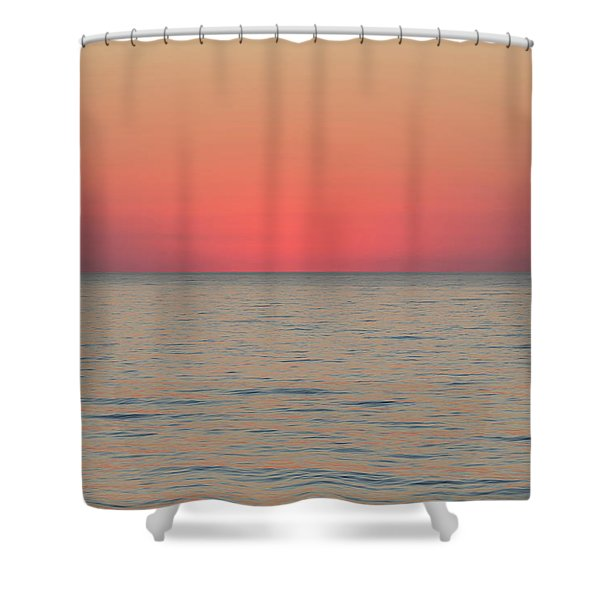 Boiling The Ocean Shower Curtain