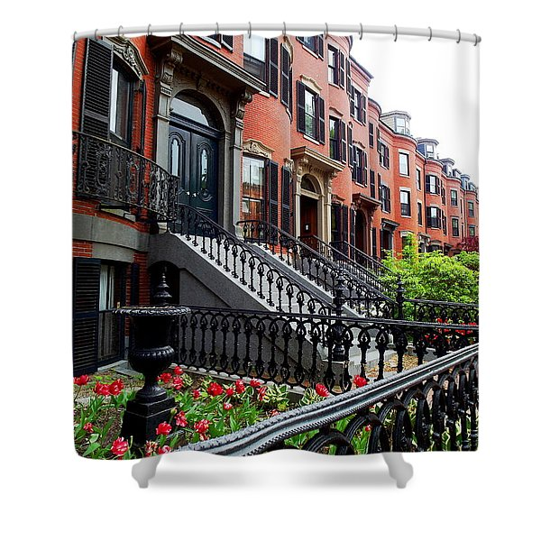 Boston's South End Shower Curtain