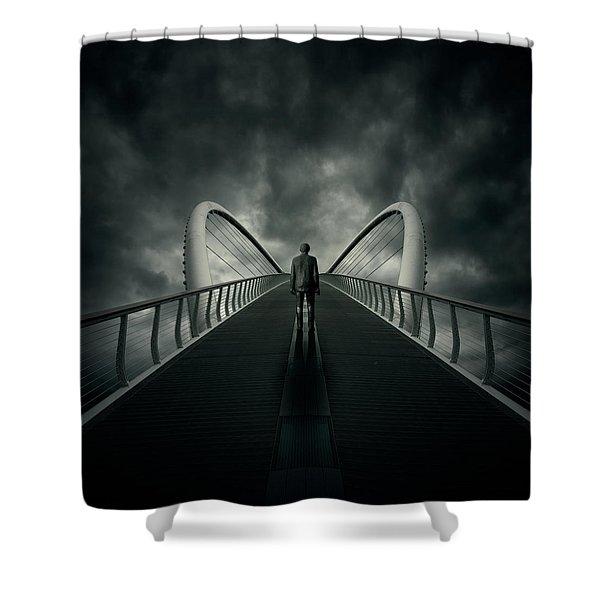 Bridge Shower Curtain