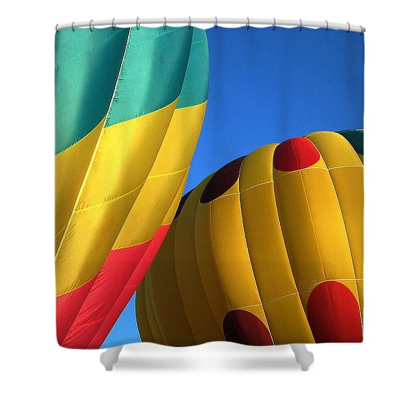 Bump Mates Shower Curtain