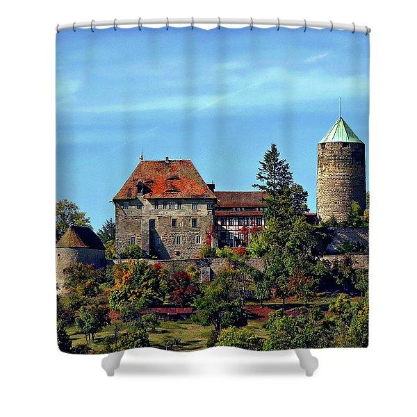 Burg Colmberg Shower Curtain