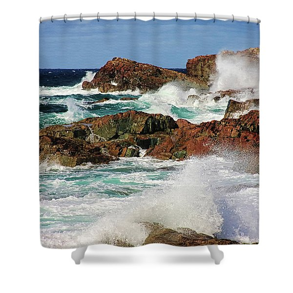 Cape Bonavista, Newfoundland Shower Curtain