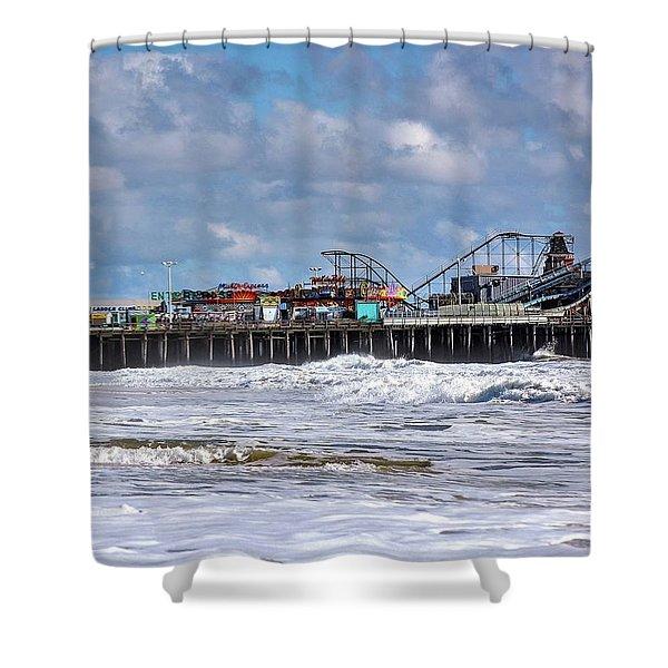 Casino Pier, Seaside Heights Nj Shower Curtain