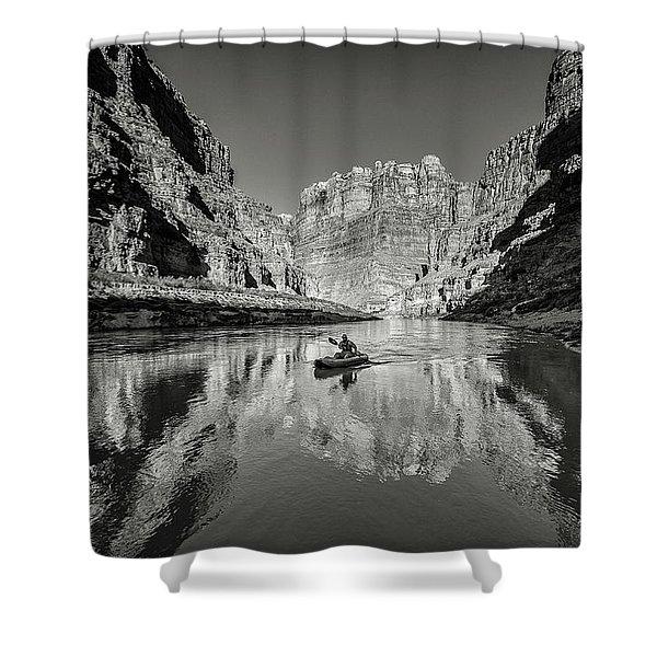 Cataract Canyon Shower Curtain