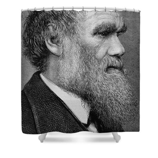 Charles Darwin Shower Curtain