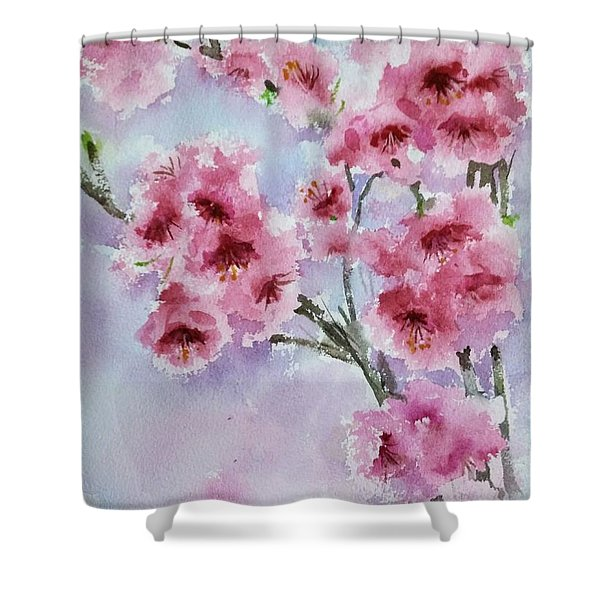 Cherry Blossoms Shower Curtain