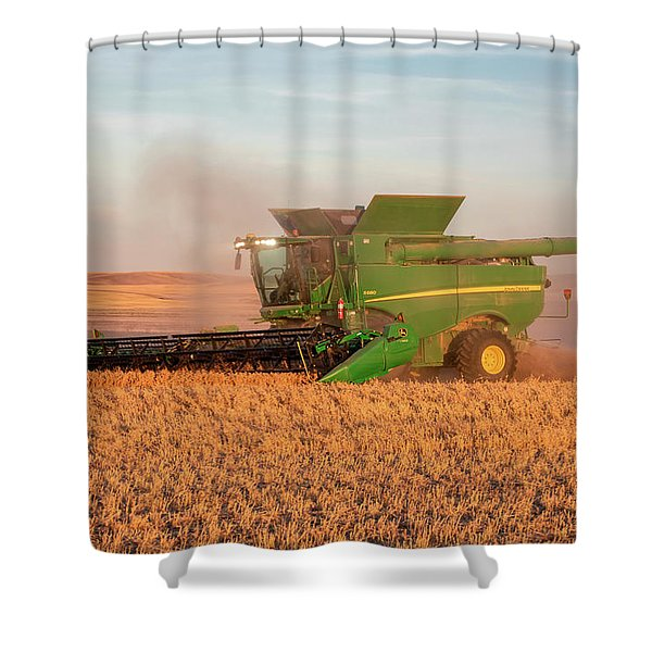 Chickpea Harvest Shower Curtain