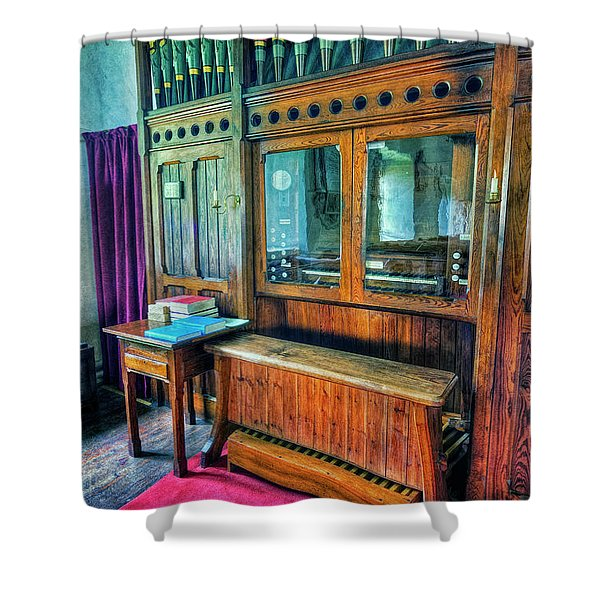 Church Organ Shower Curtain