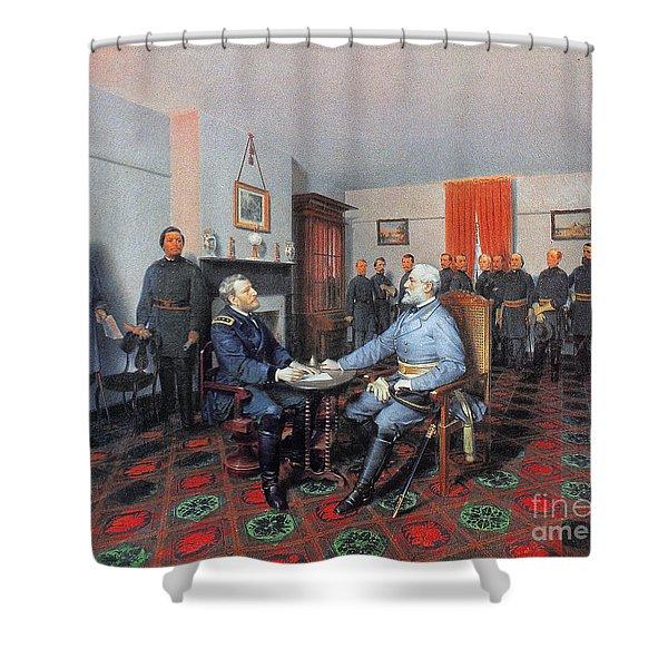 Civil War: Appomattox, 1865 Shower Curtain