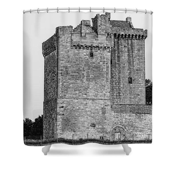 Clackmannan Tower Shower Curtain