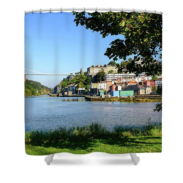 Clifton Suspenion Bridge Shower Curtain