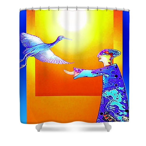 Colorful Friends Shower Curtain