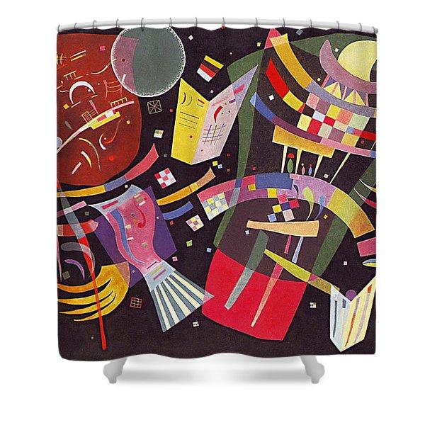 Composition X Shower Curtain