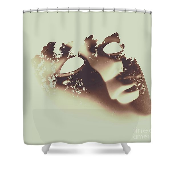 Connection To All That Is Shower Curtain