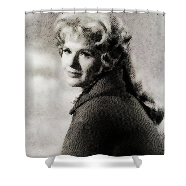 Connie Stevens, Vintage Actress Shower Curtain