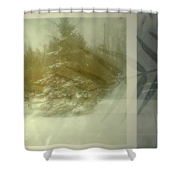 Continues Shower Curtain
