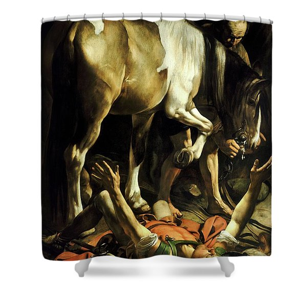 Conversion On The Way To Damascus Shower Curtain