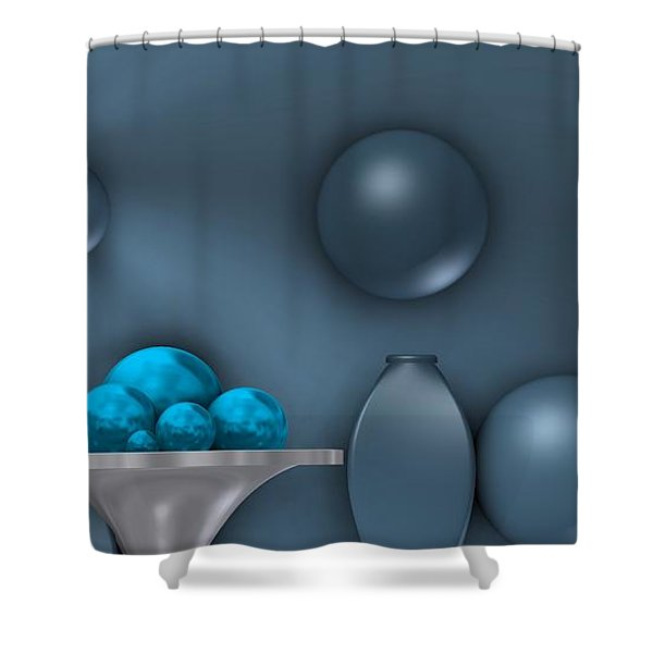 Cool Still Life Shower Curtain