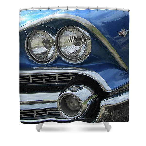 Coronet Eyes Shower Curtain