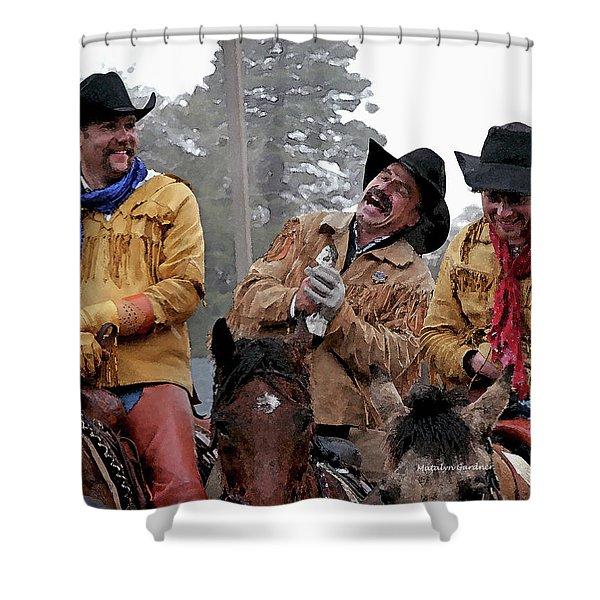 Cowboy Humor Shower Curtain
