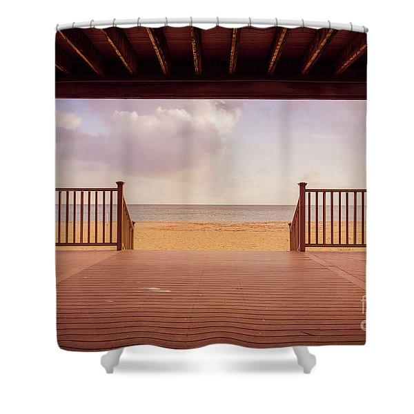Craigville Beach Cape Cod Shower Curtain