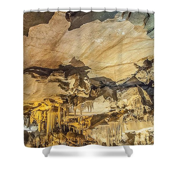 Crystal Cave Sequoia National Park Shower Curtain