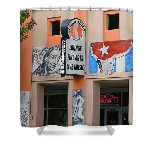 Cubacho Lounge Shower Curtain