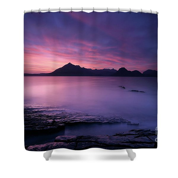 Cuillins At Sunset Shower Curtain