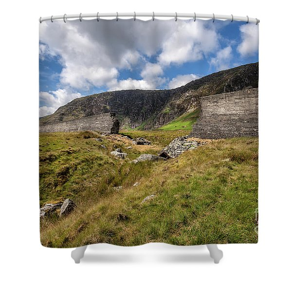 Dam Disaster Shower Curtain
