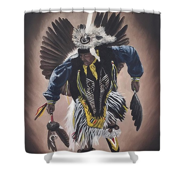 Dancing In The Spirit  Shower Curtain