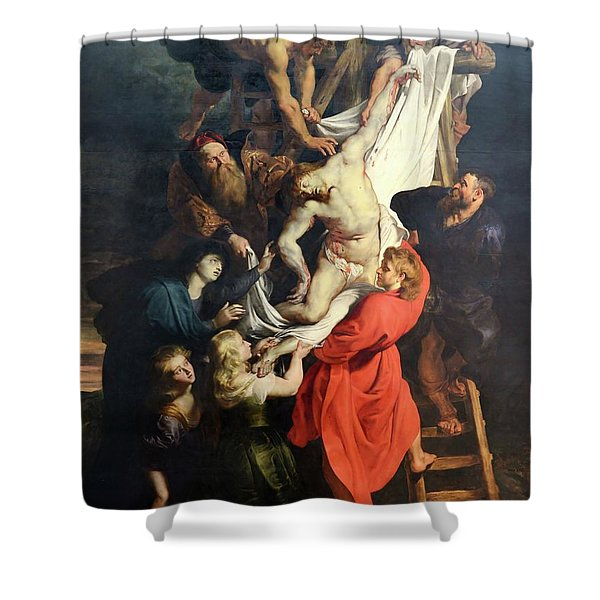 Descent From The Cross Shower Curtain