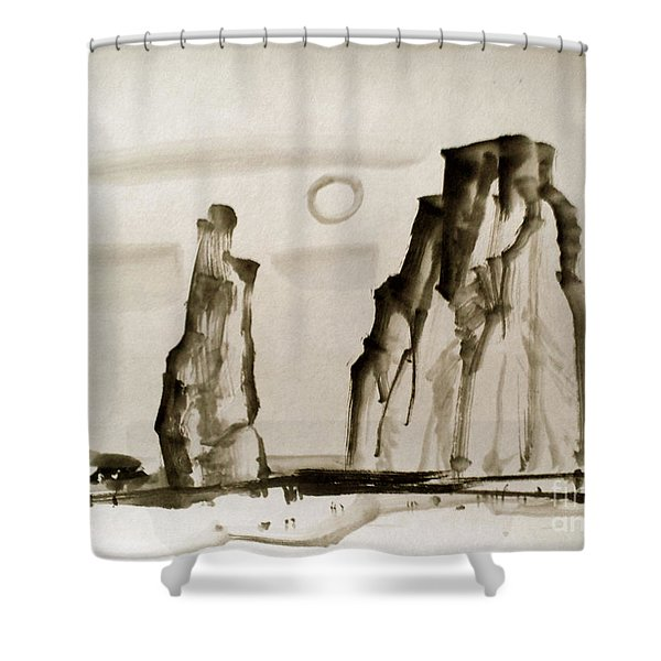 Desert 15050050fy Shower Curtain