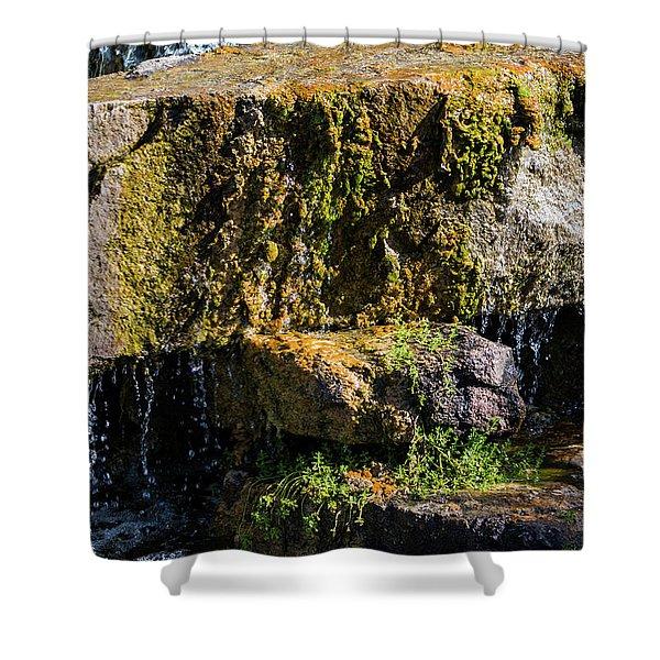 Desert Waterfall 2 Shower Curtain
