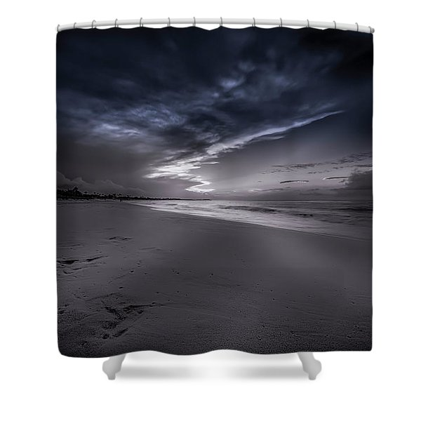 Dominicana Beach Shower Curtain