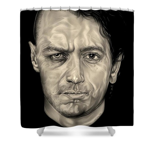 Double Jeopardy Shower Curtain