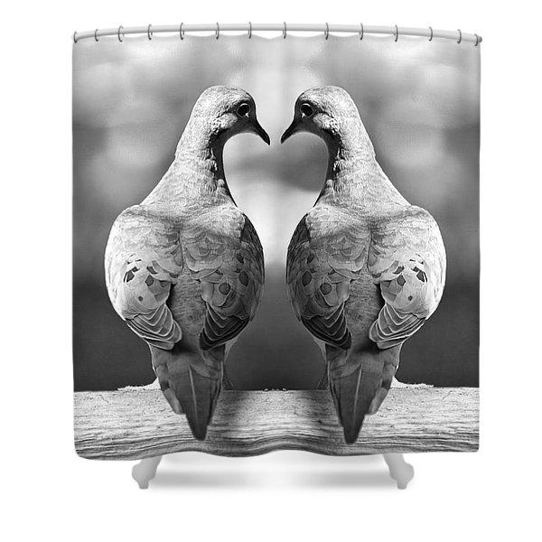 Dove Birds Shower Curtain