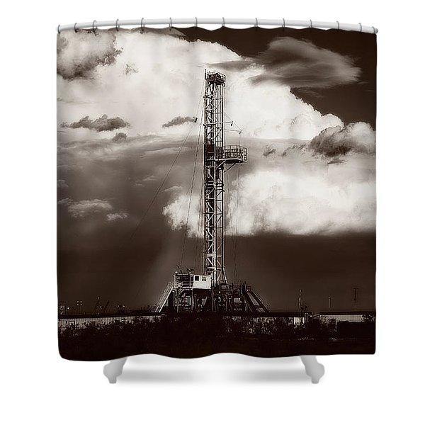 Downpour Shower Curtain