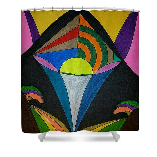 Dream 313 Shower Curtain