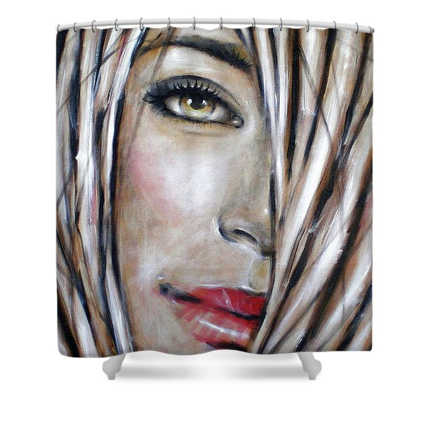 Dream In Amber 120809 Shower Curtain