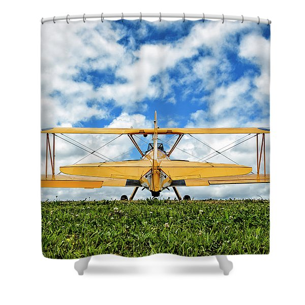 Dreaming Of Flight Shower Curtain