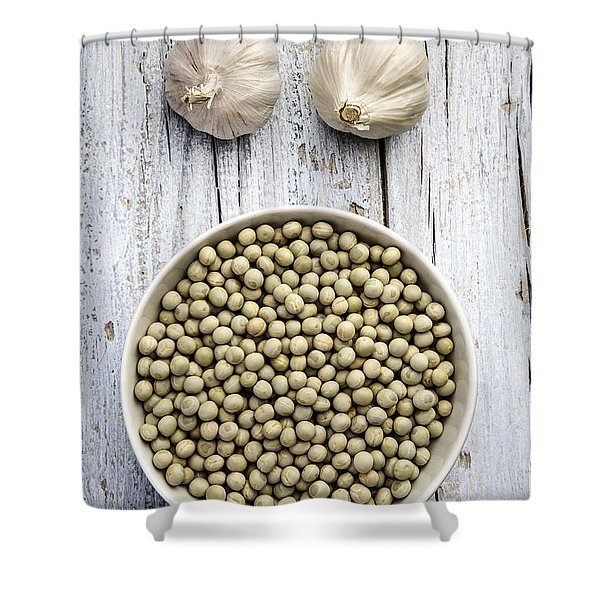 Dried Peas Shower Curtain