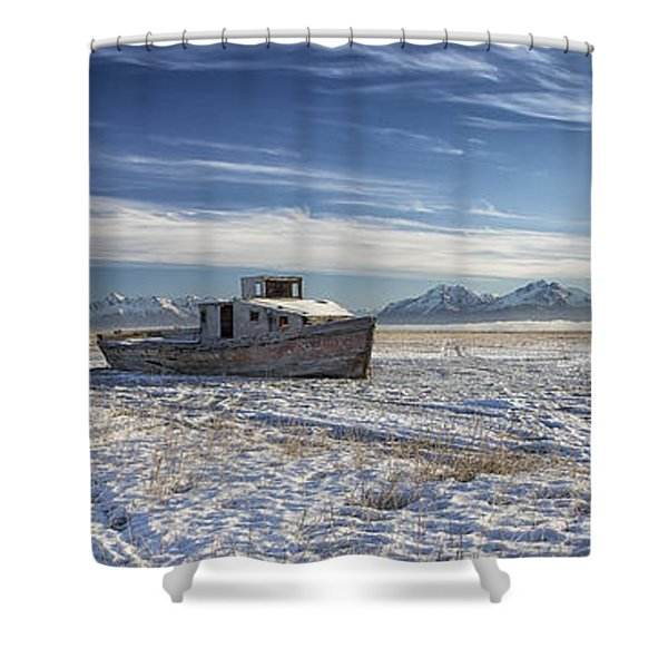 Drifter Pano Shower Curtain