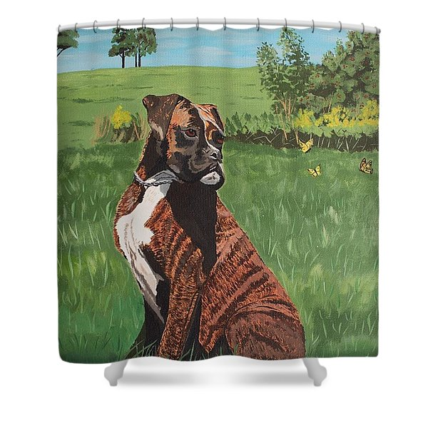 Duke Shower Curtain