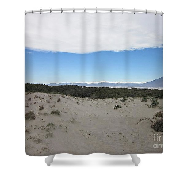 Dune In Roquetas De Mar Shower Curtain
