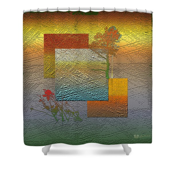 Early Morning In Boreal Forest Shower Curtain